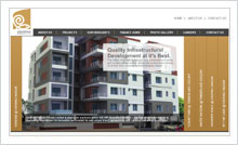 Real Estate Website Designing Portfolio Hyderabad Guntur vijayawada visakhapatnam - Pragati Green Meadows and Resorts Ltd.