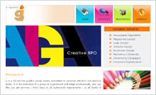 Graphic Design Studio Website Designing Portfolio Hyderabad - SIngenious